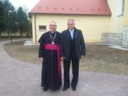 Návšteva biskupa 2015